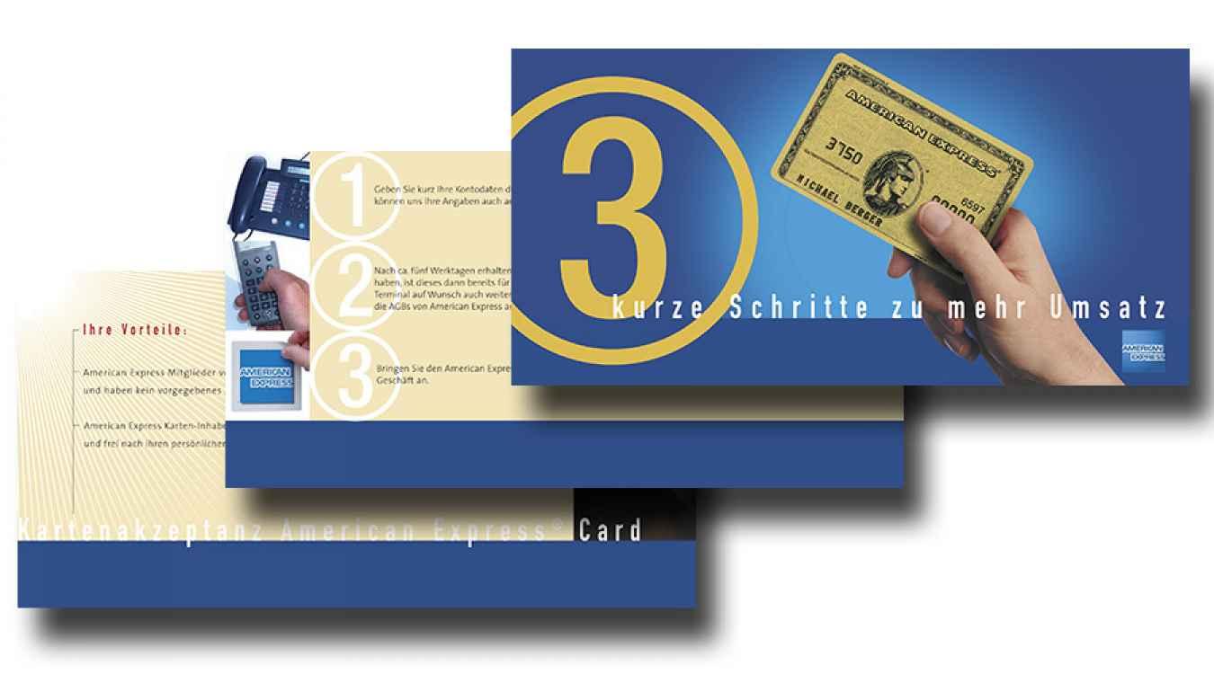 Mailing für American Express